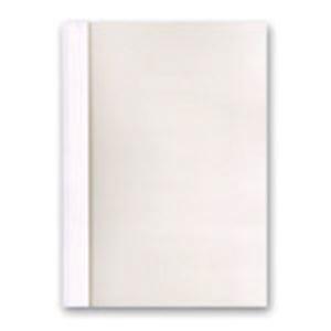その他 ジャパンインターナショナルコマースとじ太くん専用契約書カバー A4タテ 背幅6mm クリアホワイト 1セット(50冊:10冊×5パック) ds-2115412