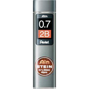 その他 (まとめ) ぺんてる シャープ替芯 アインシュタイン 0.7mm 2B C277-2B 1個(40本) 【×30セット】 ds-2121277:激安!家電のタンタンショップ