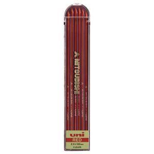 その他 (まとめ) 三菱鉛筆 ユニホルダー替芯 2.0mm赤 ULN.15 1個(6本) 【×30セット】 ds-2121361
