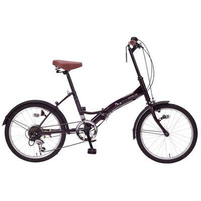 マイパラス 最もシンプルでスタンダードなスペシャルバリューバイシクル 折畳自転車20インチ・6段ギア (ディープパープル) M-205-PP【納期目安:12/下旬入荷予定】