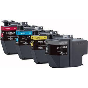 その他 ブラザー インクカートリッジ 4色パック大容量 LC3119-4PK 1箱(4個:各色1個) ds-2125330