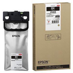 その他 エプソン インクパック ブラックIP03KB 1個 ds-2125604