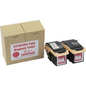その他 トナーカートリッジ CT202465汎用品 マゼンタ 1箱(2個) ds-2125672