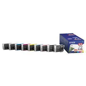 その他 エプソン インクカートリッジ 9色パックIC9CL79 1箱(9個:各色1個) ds-2125698