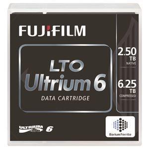その他 富士フイルム LTO Ultrium6データカートリッジ バーコードラベル(横型)付 2.5TB LTO FB UL-6 OREDPX5Y1箱(5巻) ds-2126163