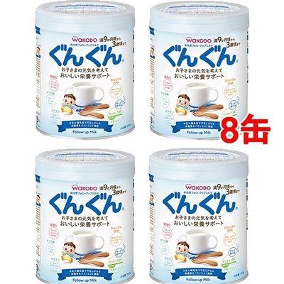 アサヒグループ食品 フォローアップ ミルク ぐんぐん 830g*4缶入*2コセット 20012