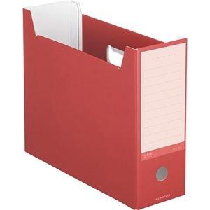 その他 (まとめ)コクヨ ファイルボックス(NEOS)A4ヨコ 背幅102mm カーマインレッド A4-NELF-R 1セット(10冊) 【×3セット】 ds-2129820
