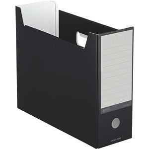 その他 (まとめ)コクヨ ファイルボックス(NEOS)A4ヨコ 背幅102mm ブラック A4-NELF-D 1セット(10冊) 【×3セット】 ds-2129826