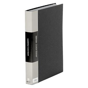 その他 キングジム カラーベーストリプルA4タテ 60ポケット 背幅35mm 黒 132-3C 1セット(5冊) ds-2130321