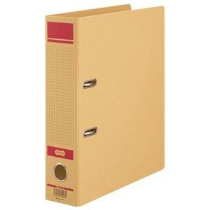 その他 TANOSEE保存用レバー式アーチファイルN A4タテ 背幅77mm 赤 1セット(24冊) ds-2130325