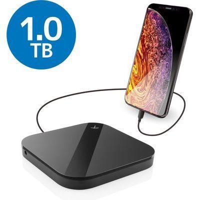 エレコム ELECOM Portable Drive USB3.0 1TB Black/スマートフォン用 ELP-SHU010UBK