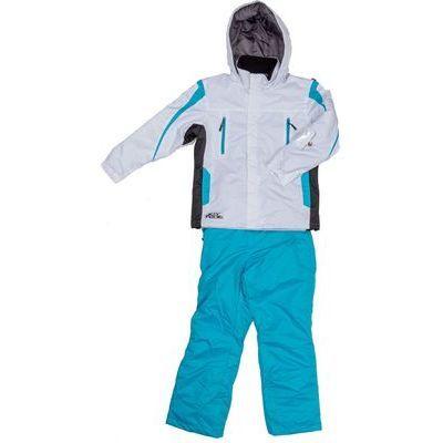 ジョイライド 子供(男の子)スキーウエア 上下組 (白色160) JOB-3338-W160
