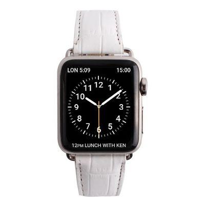 ロア・インターナショナル ゲイズ AppLe Watch用バンド38mm ホワイトクロコ GZ0480AW 1コ入 8809428244803【納期目安:2週間】
