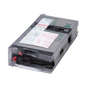 その他 オムロン UPS交換用バッテリパックBA100R用 BAB100R 1個 ds-2136110