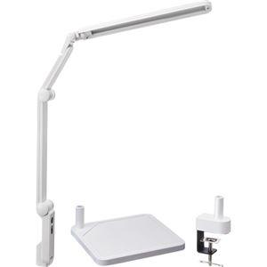 その他 興和 LUPINUS LEDデスクライトEK320+クランプセット ホワイト EK320+CLAMP(WH) 1台 ds-2137819