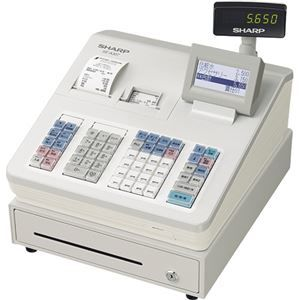 その他 シャープ 電子レジスタ ホワイトXE-A307-W 1台 ds-2138246