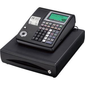 その他 カシオ 電子レジスター ブラックTE-400-BK 1台 ds-2138248