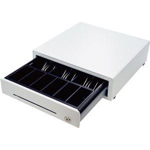 BC-DW330HP-W ds-2138275 ビジコム手動式キャッシュドロア・ミニ(3B/6C) ホワイト その他 1台