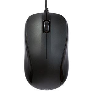 その他 TANOSEE USBレーザーマウス3ボタン Mサイズ ブラック M-S2ULBK/RST 1セット(10個) ds-2139154