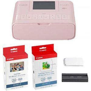 その他 キヤノン SELPHYコンパクトフォトプリンター CP1300 カードプリントキット ピンク 2236C012 1台 ds-2139850