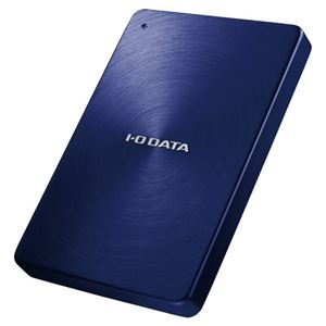 その他 アイオーデータ USB3.0/2.0対応 ポータブルハードディスク「カクうす」 2.0TB ブルー HDPX-UTA2.0B 1台 ds-2141237