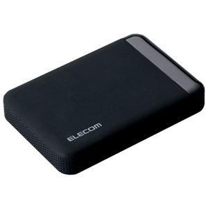 その他 エレコムセキュリティ対策用ポータブルハードディスク 500GB ELP-EEN005UBK 1台 ds-2141254