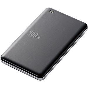 その他 エレコムUSB3.1(Gen1)対応外付けポータブルSSD 480GB ブラック ESD-ED0480GBK 1台 ds-2141499