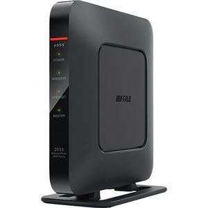 その他 バッファロー QRsetupAirStation 無線LAN親機 11ac/n/a/g/b 1733+800Mbps WSR-2533DHPL1台 ds-2141664