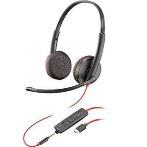 その他 プラントロニクス 有線UCヘッドセットBlackwire C3225 USB-C 209751-101 1個 ds-2141784