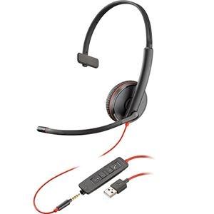 その他 プラントロニクス 有線UCヘッドセットBlackwire C3215 USB-A 209746-101 1個 ds-2141785