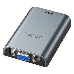 その他 サンワサプライUSB-VGAディスプレイ変換アダプタ AD-USB24VGA 1個 ds-2142425