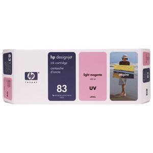 その他 HP HP83 インクカートリッジUVライトマゼンタ 顔料系 C4945A 1個 ds-2142996