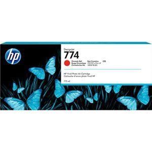 その他 HP 774 インクカートリッジクロムレッド P2W02A 1個 ds-2142998