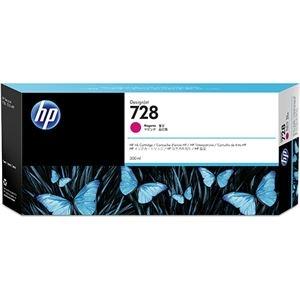 その他 HP HP728 インクカートリッジマゼンタ 300ml F9K16A 1個 ds-2143072