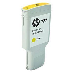 その他 HP HP727 インクカートリッジイエロー 300ml F9J78A 1個 ds-2143098
