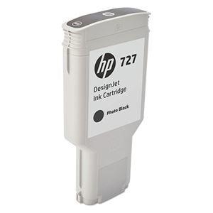 その他 HP HP727 インクカートリッジフォトブラック 300ml F9J79A 1個 ds-2143099