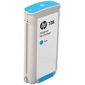 その他 HP HP728 インクカートリッジシアン 130ml F9J67A 1個 ds-2143182