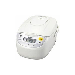 その他 タイガー JBH-G181-W マイコン炊飯ジャー (1升) ホワイト ds-2146842