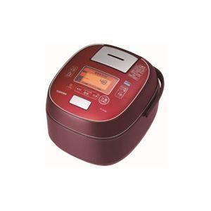 その他 TOSHIBA 真空圧力IH炊飯器 「鍛造かまど銅釜」 5.5合炊き ディープレッド RC-10VSM-RS ds-2146861