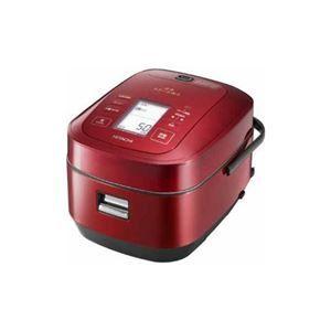 その他 日立 圧力スチームIH炊飯器「ふっくら御膳」(5.5合炊き) メタリックレッド RZ-AW3000M-R ds-2146901