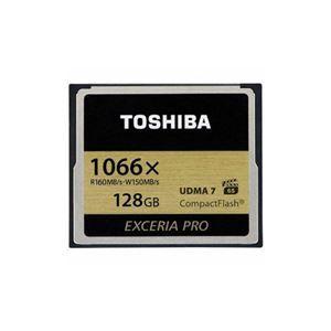 その他 TOSHIBA コンパクトフラッシュカード 「EXCERIA PRO」 128GB CF-AX128G ds-2148271