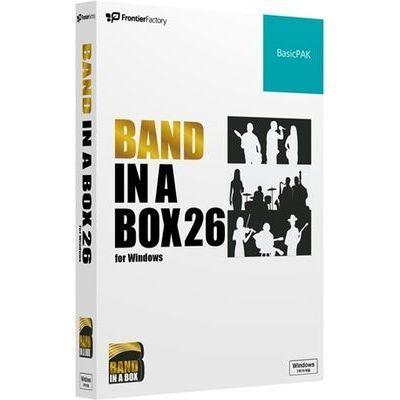 フロンティアファクトリー Band-in-a-Box 26 for Windows BasicPAK PGBBQBW111【納期目安:1週間】