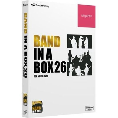 フロンティアファクトリー Band-in-a-Box 26 for Windows MegaPAK PGBBQMW111【納期目安:1週間】