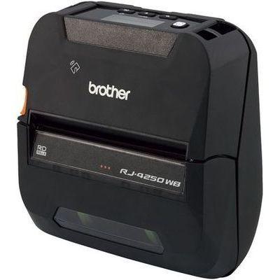 ブラザー 4インチ感熱モバイルプリンター(ラベル・レシート兼用モデル/USB/Wi-Fi/Bluetooth)RJ-4250WB RJ-4250WB【納期目安:追って連絡】