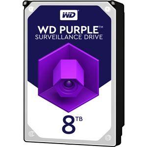 その他 WESTERN DIGITAL WD Purpleシリーズ 3.5インチ内蔵HDD 8TB SATA6Gb/s 5400rpm256MBキャッシュ AF対応 ds-2150547