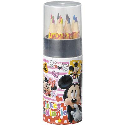 その他 【160個セット】キャラクター 円筒ケース入12色鉛筆 MRTS-33316