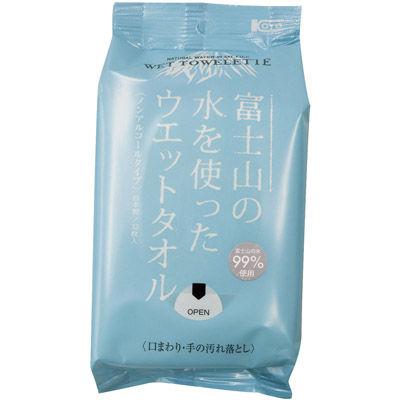 その他 【80個セット】富士山の水を使ったウエットタオル32枚入 MRTS-33320