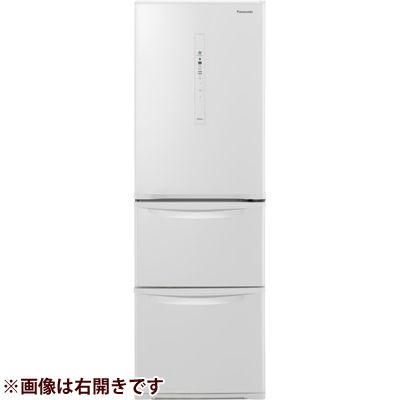 パナソニック ノンフロン冷蔵庫3ドア365L左開きタイプ ピュアホワイト NR-C370CL-W