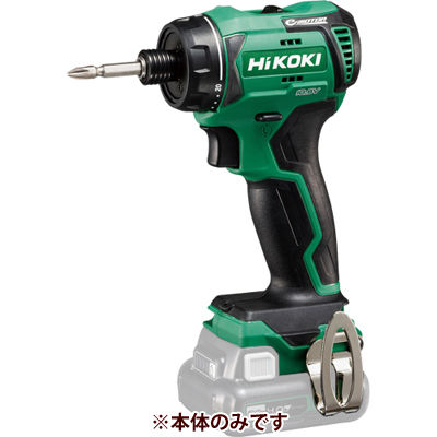 HiKOKI(日立工機) コードレスドライバドリル(電池、充電器別売です。) DB12DD(NN)