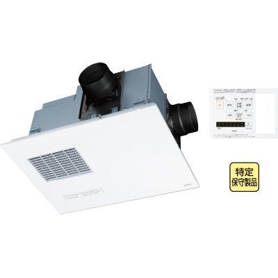 TOTO 『三乾王』 ビルトインタイプ(天井埋め込み)2室換気タイプ(浴室+トイレまたは洗面所)100V(照明スイッチ枠付リモコン) TYB4012GC